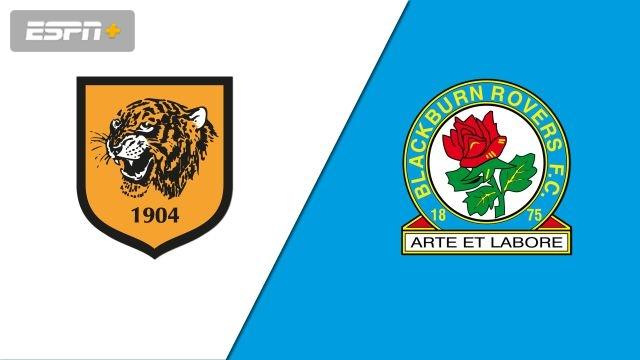 Hull City vs. Blackburn Rovers (English League Championship)