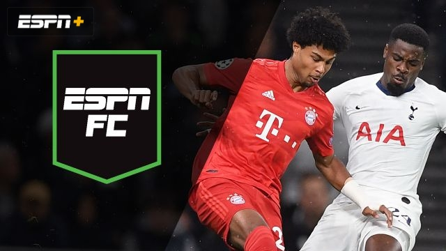 Tue, 10/1 - ESPN FC: Spurs, Bayern battle in UCL