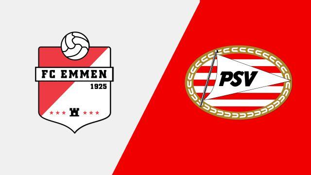 FC Emmen vs. PSV (Eredivisie)