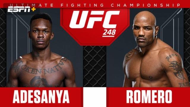 UFC 248 Pre-Show: Adesanya vs. Romero