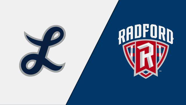 Longwood vs. Radford (W Basketball)
