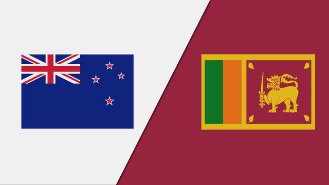 New Zealand vs. Sri Lanka (1st Test - Day 1)