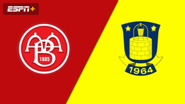 AaB vs. Brondby IF (Danish Superliga)