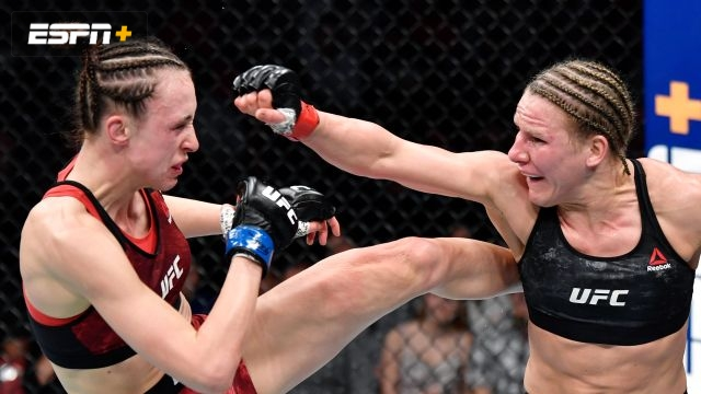 Justine Kish vs. Lucie Pudilova (UFC Fight Night: Blaydes vs. Dos Santos)