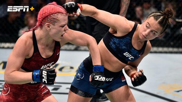 Maycee Barber vs. Gillian Robertson (UFC Fight Night: Reyes vs. Weidman)