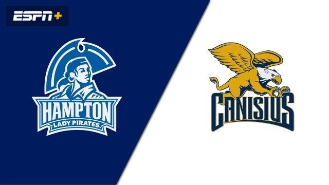 Hampton vs. Canisius (W Soccer)