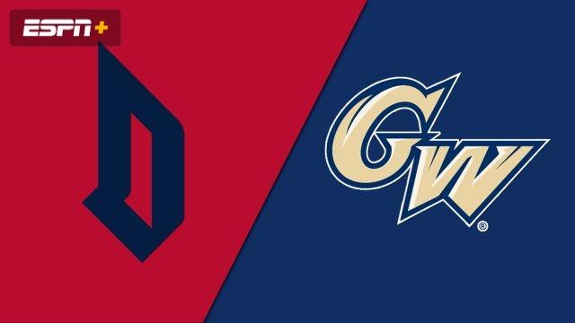 Duquesne vs. George Washington (M Basketball)