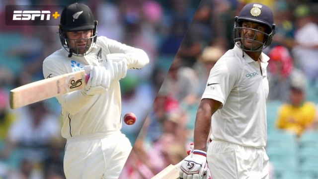 New Zealand vs. India (1st Test - Day 4)