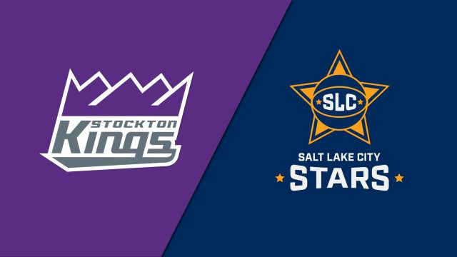 Stockton Kings vs. Salt Lake City Stars