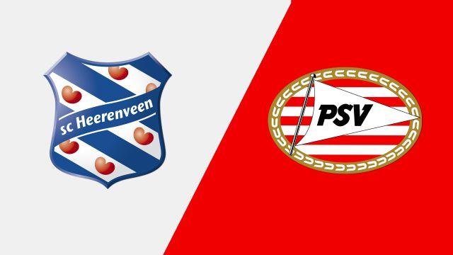 Heerenveen vs. PSV (Eredivisie)