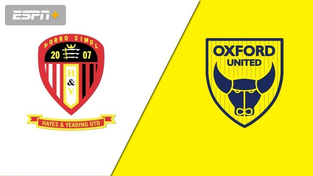 Hayes & Yeading vs. Oxford United (Round 1) (FA Cup)