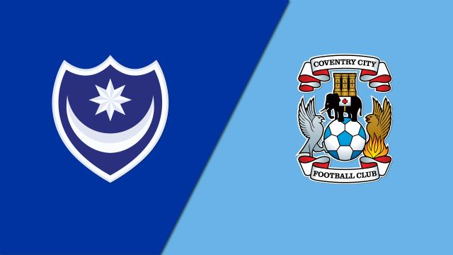 Portsmouth vs. Coventry City (English League One)