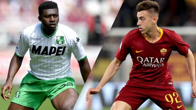 Sassuolo vs. AS Roma (Serie A)