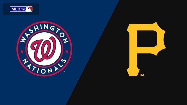 Washington Nationals vs. Pittsburgh Pirates