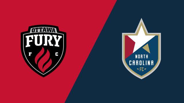 Ottawa Fury FC vs North Carolina FC
