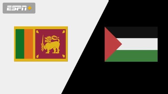 Sri Lanka vs. Palestine
