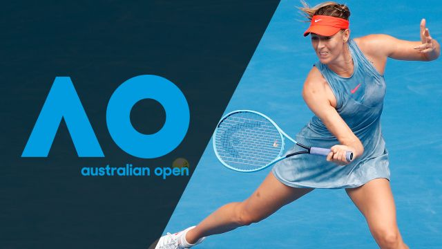 Fri, 1/18 - Australian Open Highlight Show
