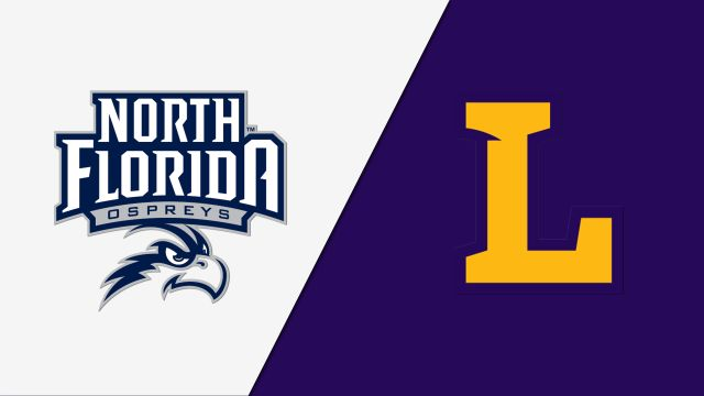 North Florida vs. Lipscomb (First Round) (W Volleyball)