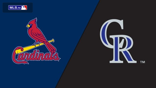 St. Louis Cardinals vs. Colorado Rockies