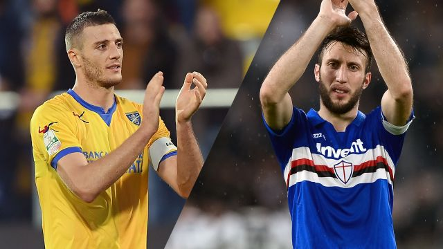 Frosinone vs. Sampdoria (Serie A)
