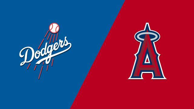 Los Angeles Dodgers vs. Los Angeles Angels