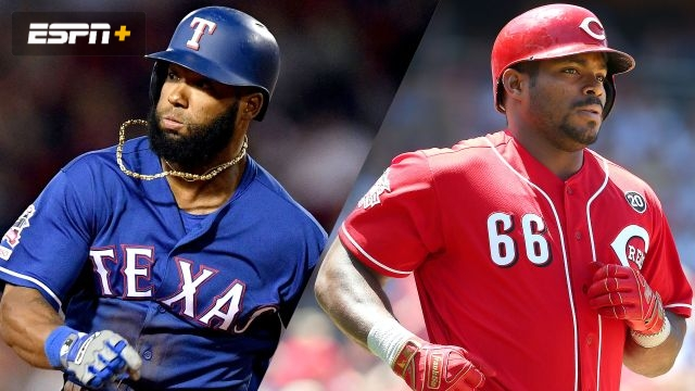 Texas Rangers vs. Cincinnati Reds