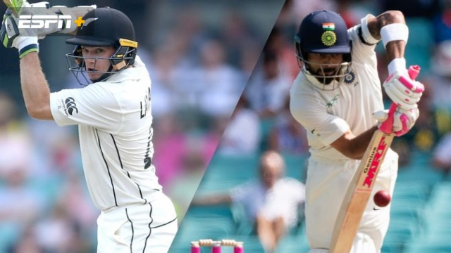 New Zealand vs. India (1st Test - Day 3)