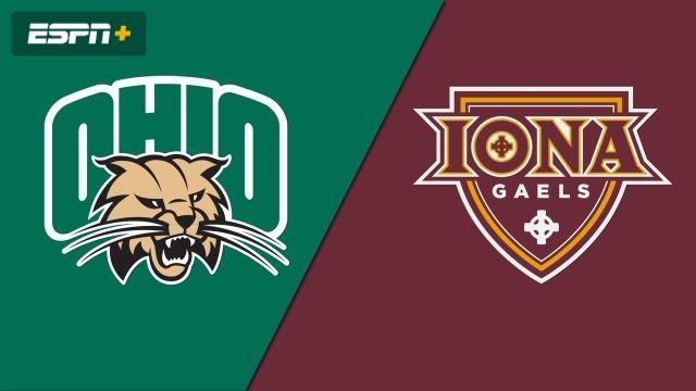 Ohio vs. Iona (M Basketball)