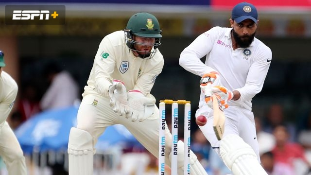 India vs. South Africa (3rd Test - Day 2)