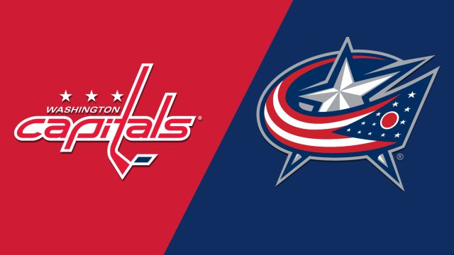 In Canadian French-Washington Capitals vs. Columbus Blue Jackets