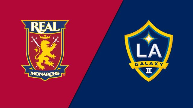 Real Monarchs SLC vs. LA Galaxy II (United Soccer League)
