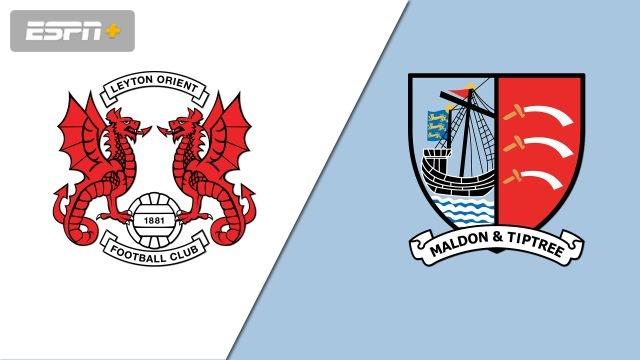 Leyton Orient vs. Maldon & Tiptree (Round 1) (FA Cup)