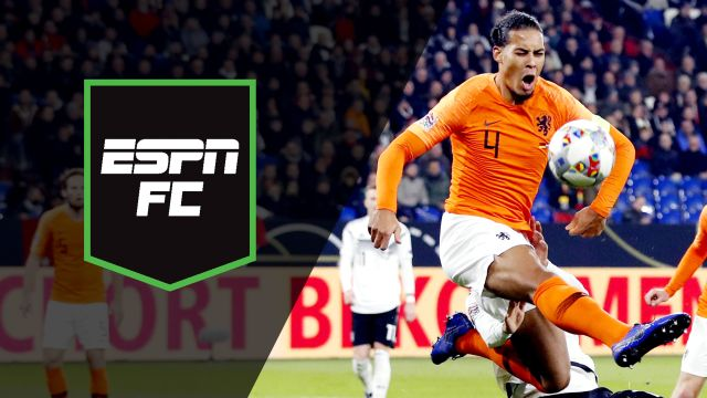 Mon, 11/19 - ESPN FC: Late drama in Germany vs. Netherlands
