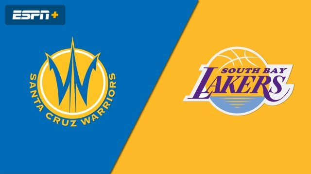 Santa Cruz Warriors vs. South Bay Lakers