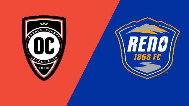 Orange County SC vs. Reno 1868 FC