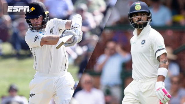 New Zealand vs. India (1st Test - Day 1)
