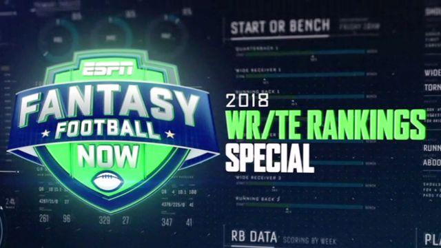 WR/TE Rankings