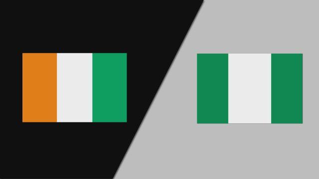 Cote D'Ivoire vs. Nigeria (FIBA World Cup Qualifier)