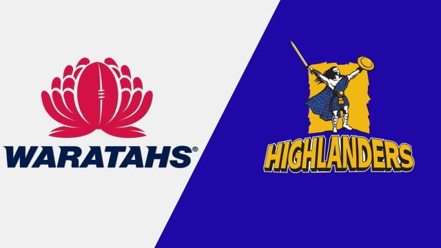 Waratahs vs. Highlanders (Super Rugby)