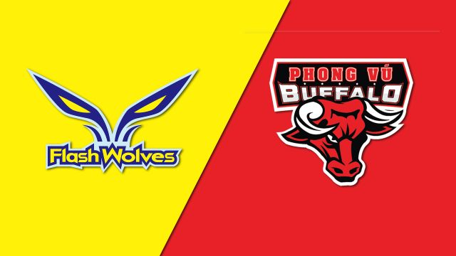 10/15 Flash Wolves vs. Phong Vu Buffalo