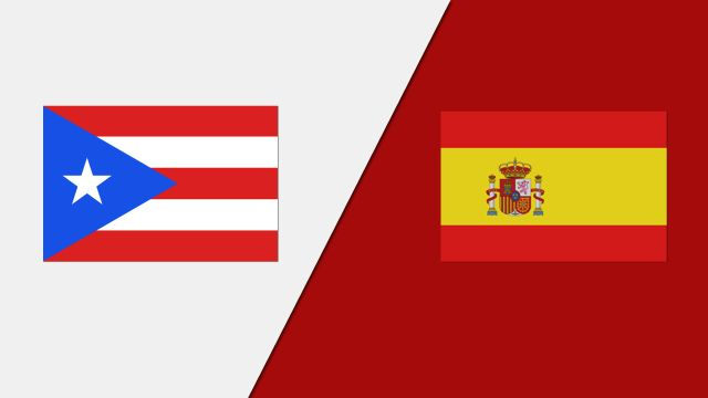 Puerto Rico vs. Spain (Group Phase)