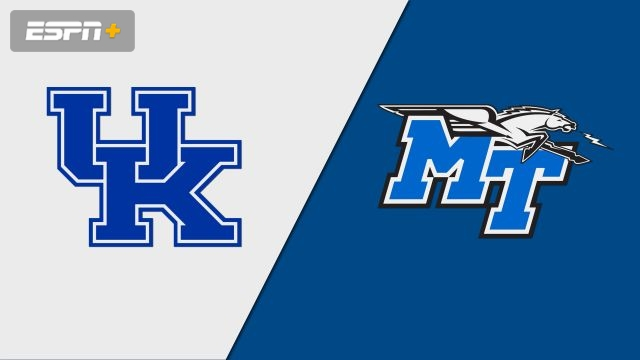 Kentucky vs. Middle Tennessee (W Basketball)