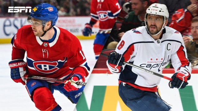 Montreal Canadiens vs. Washington Capitals