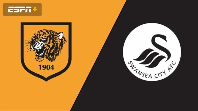 Hull City vs. Swansea City (English League Championship)