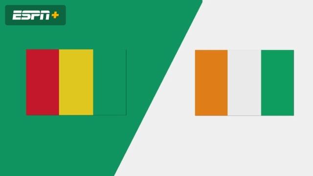 Guinea vs. Cote D'Ivoire