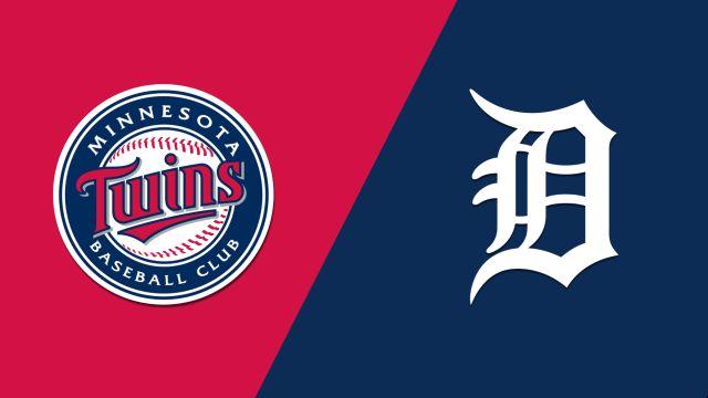 Minnesota Twins vs. Detroit Tigers