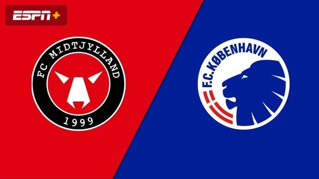 FC Midtylland vs. FC Kobenhaven (Danish Superliga)