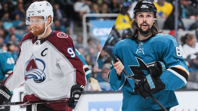 Colorado Avalanche vs. San Jose Sharks