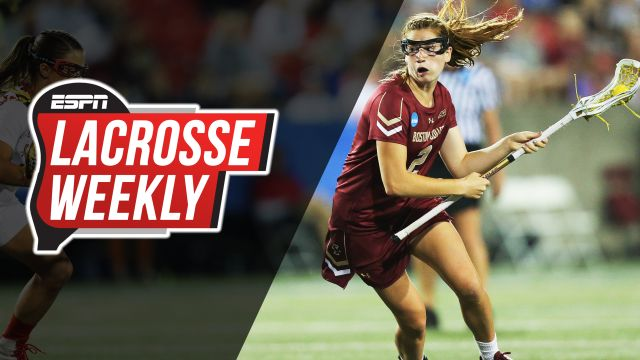 Tue, 4/2 - Lacrosse Weekly: Get to know BC's Sam Apuzzo