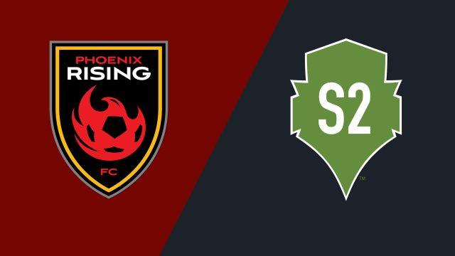 Phoenix Rising FC vs. Seattle Sounders FC 2